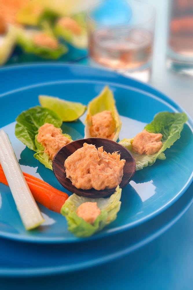 Légumes Frais et leurs Rillettes de Marlin